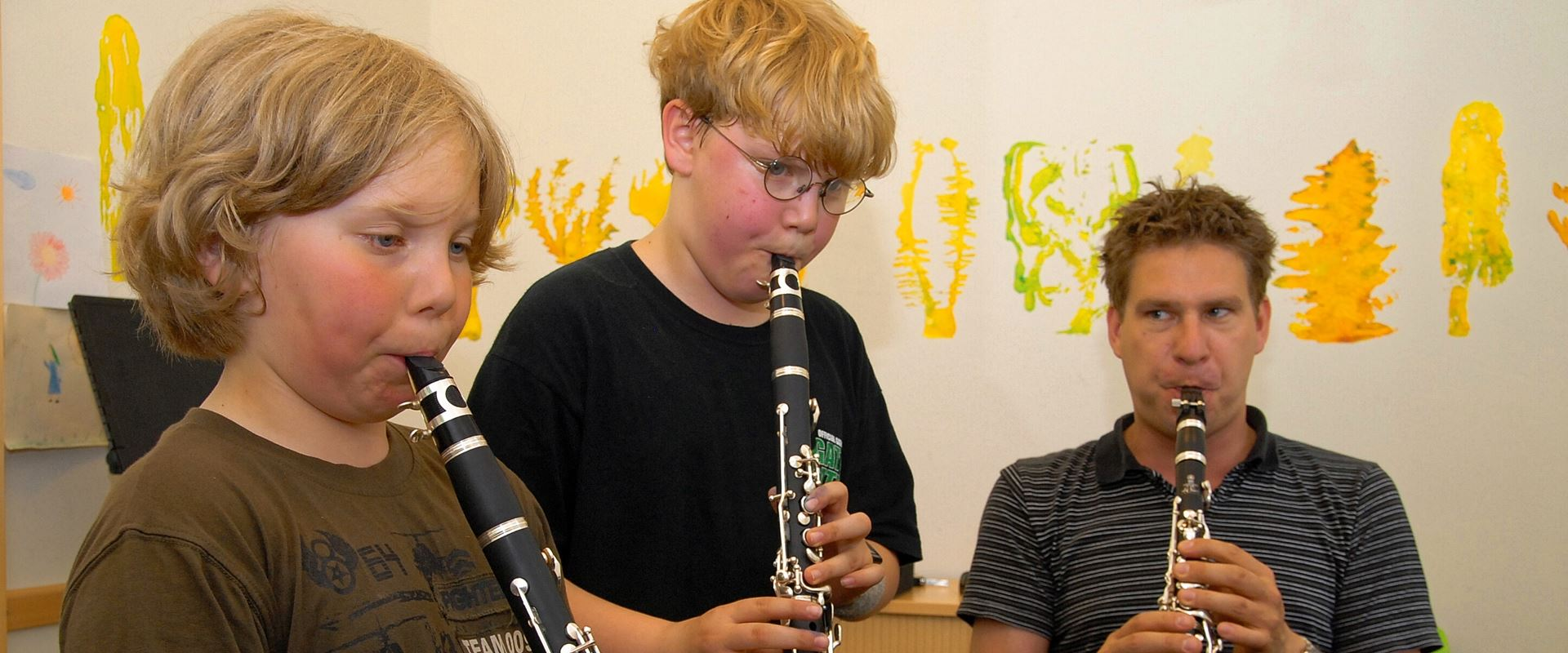 Clarinet lessons in the music school Bertheau & Morgenstern
