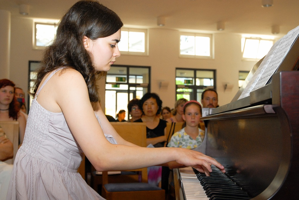 Klavierunterricht