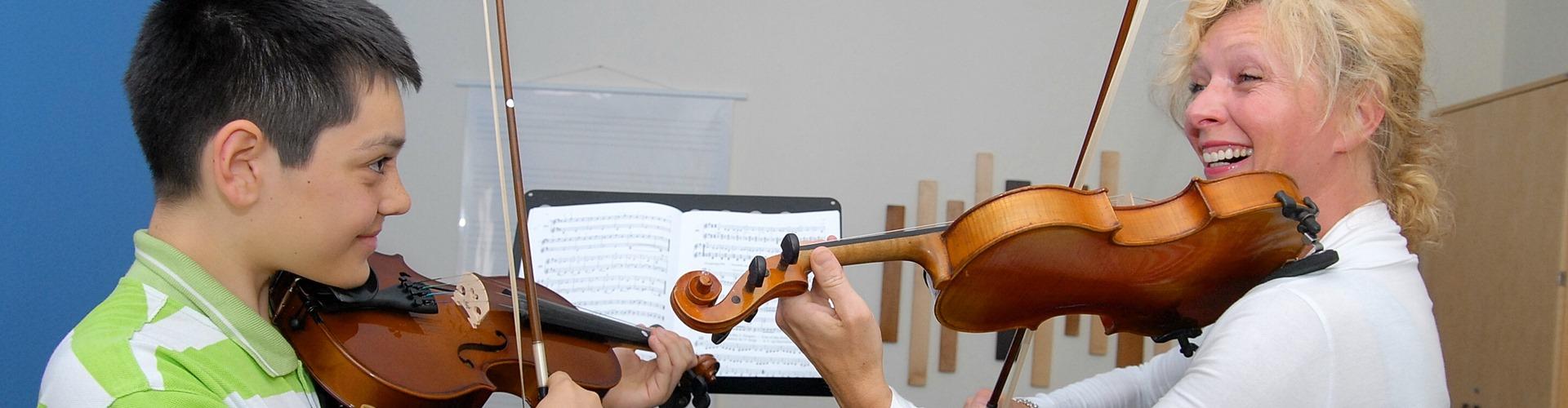 Viola spielen, Violaunterricht