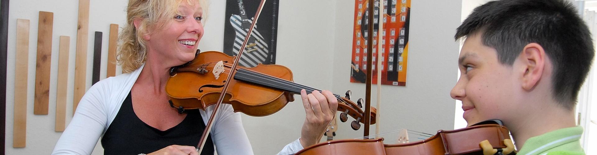 Viola lernen, Violaunterricht