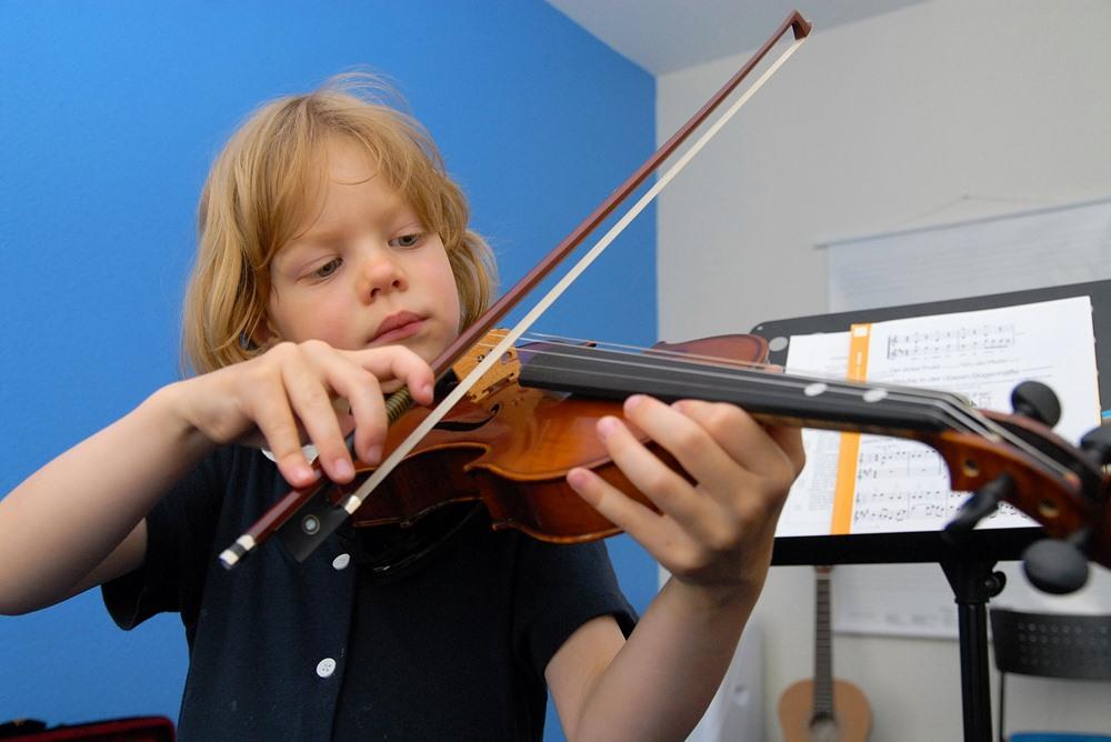 Geigenunterricht, Violinenunterricht