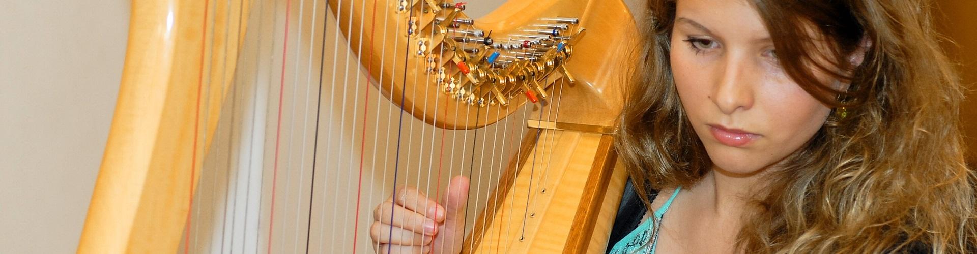 Harfe lernen, Harfenunterricht
