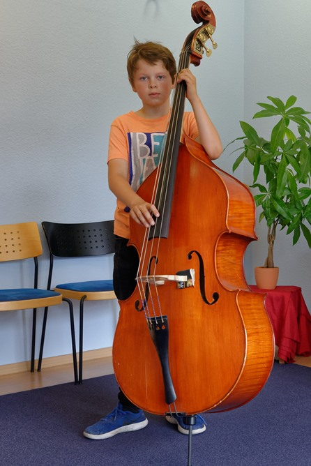 Contrabass lessons