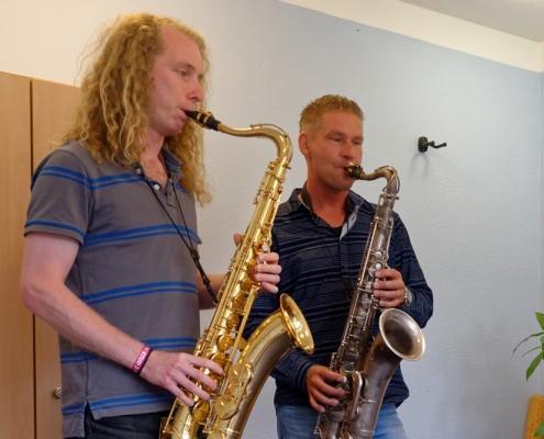 Saxophon lernen, Saxophonunterricht