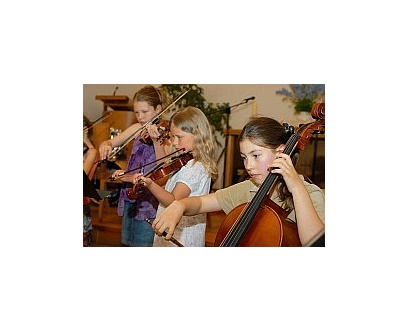 Streicher Ensemble Fiddle-Kids