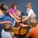 Instrumentenkarussell in der Musikschule Bertheau & Morgenstern