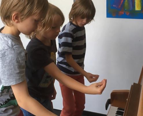 Wenn die Finger laufen lernen Kurs in der Musikschule Bertheau & Morgenstern