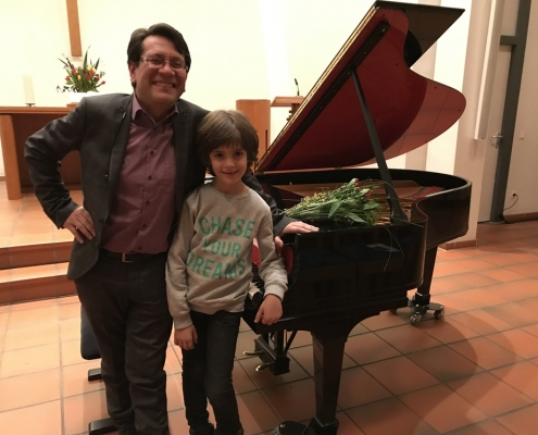 Piano concert with Ulugbek Palvanov