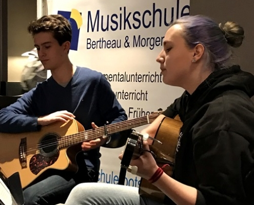 Concert at Starbucks in Potsdam on 25.01.2019