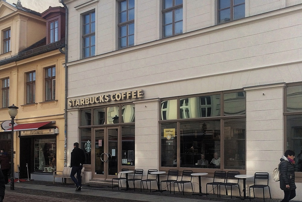 Starbucks in Potsdam, Brandenburger Straße 28 A, 14476 Potsdam