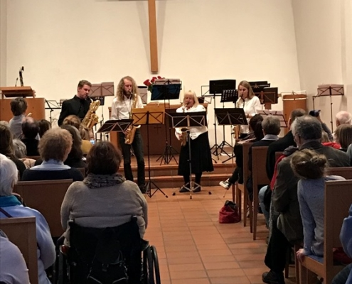 Meiers Clan and Friends on March 03, 2019 in the Versöhnungskirche