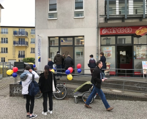Opening of the branch in the Geschwister-Scholl-Str. 89 in Potsdam