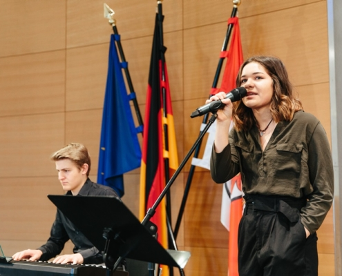 Music school Bertheau & Morgenstern guest for graduates ceremony at IHK Brandenburg on 03.29.2019