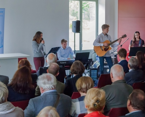 Performance of the music school Bertheau & Morgenstern at the spring reception of the Marburger Bund Berlin / Brandenburg