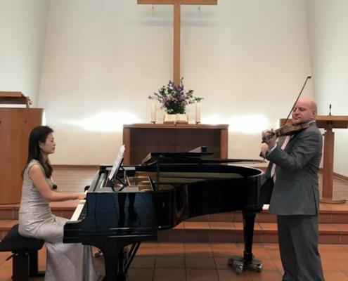 Komponistenkonzert in der Versöhnungskirche