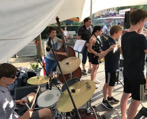 Die Big Band der Musikschule Bertheau & Morgenstern
