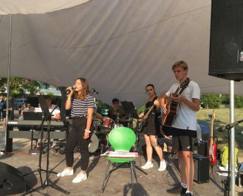 Die Black Sheep von der Musikschule Bertheau & Morgenstern