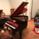 Pianist and teacher of the music school Lusine Khachatryan