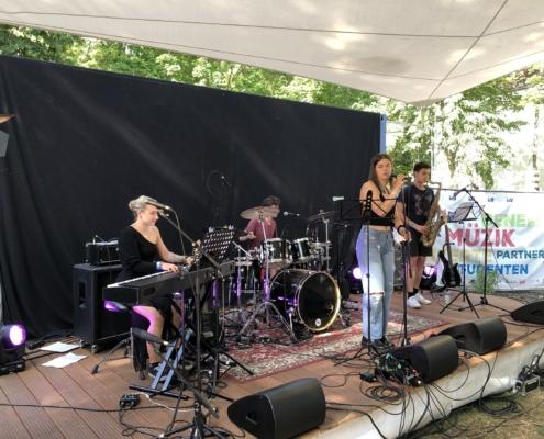 Jazz-Quartett bei der Fête 2021