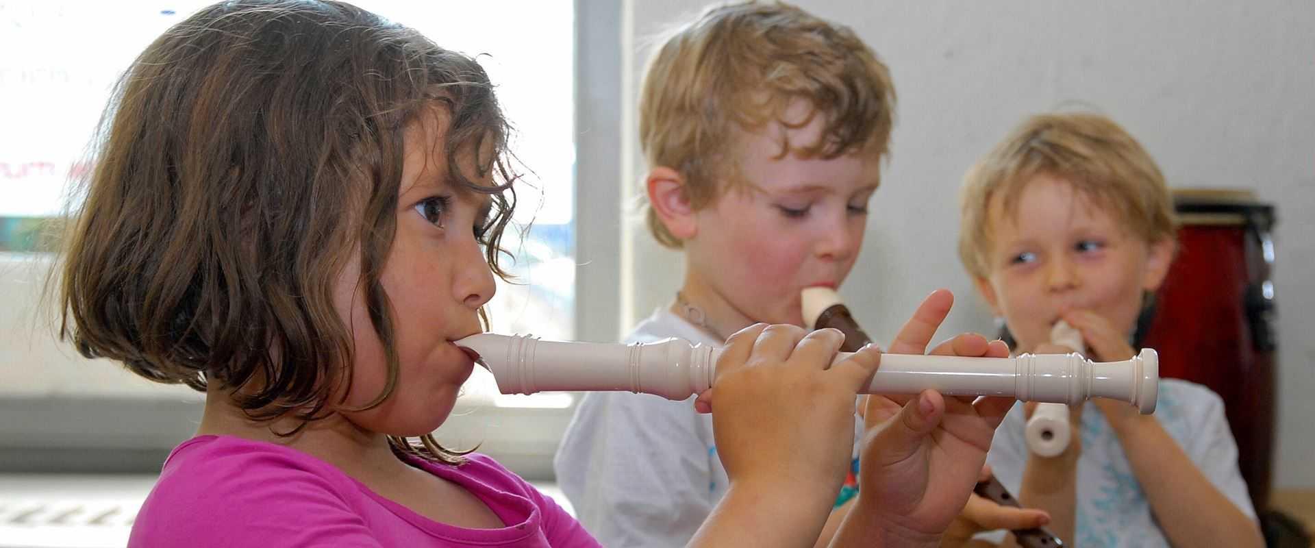 Flötenunterricht in der Musikschule Bertheau & Morgenstern