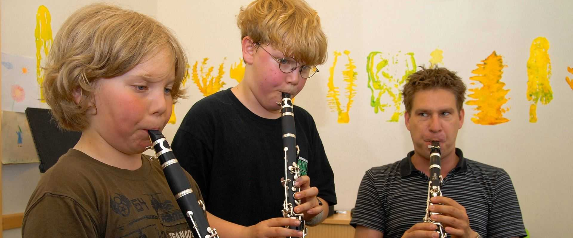 Klarinettenunterricht in der Musikschule Bertheau & Morgenstern