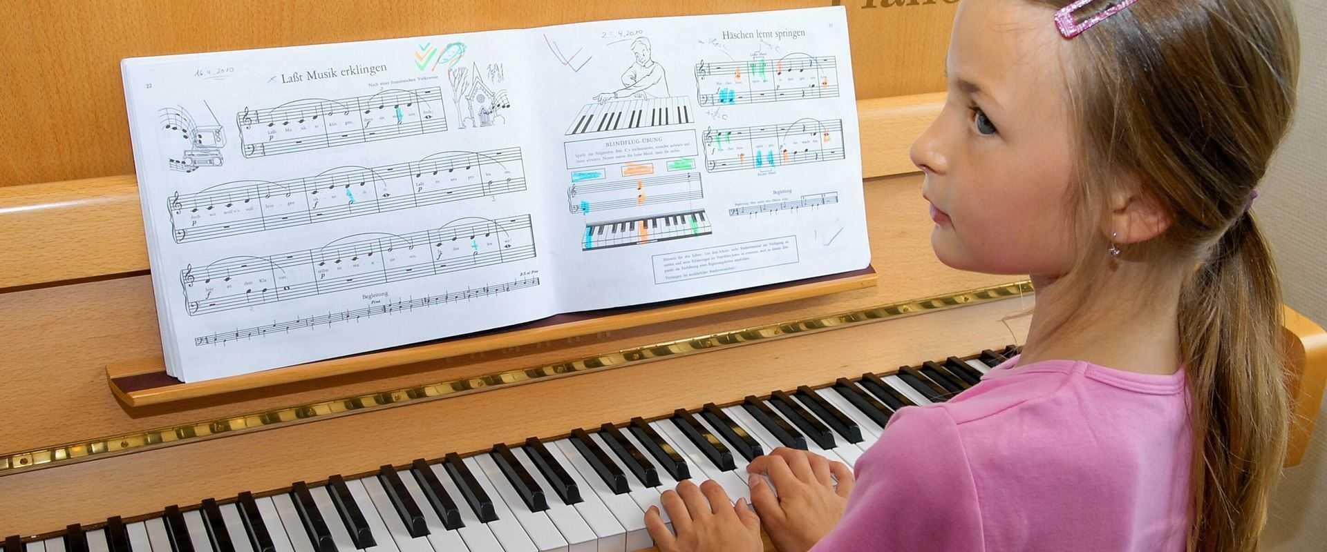 Klavierunterricht in der Musikschule Bertheau & Morgenstern