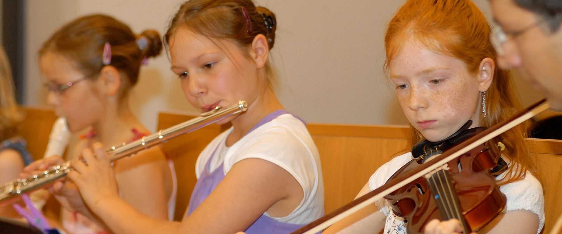 Geigen- und Querflötenunterricht in der Musikschule Bertheau & Morgenstern