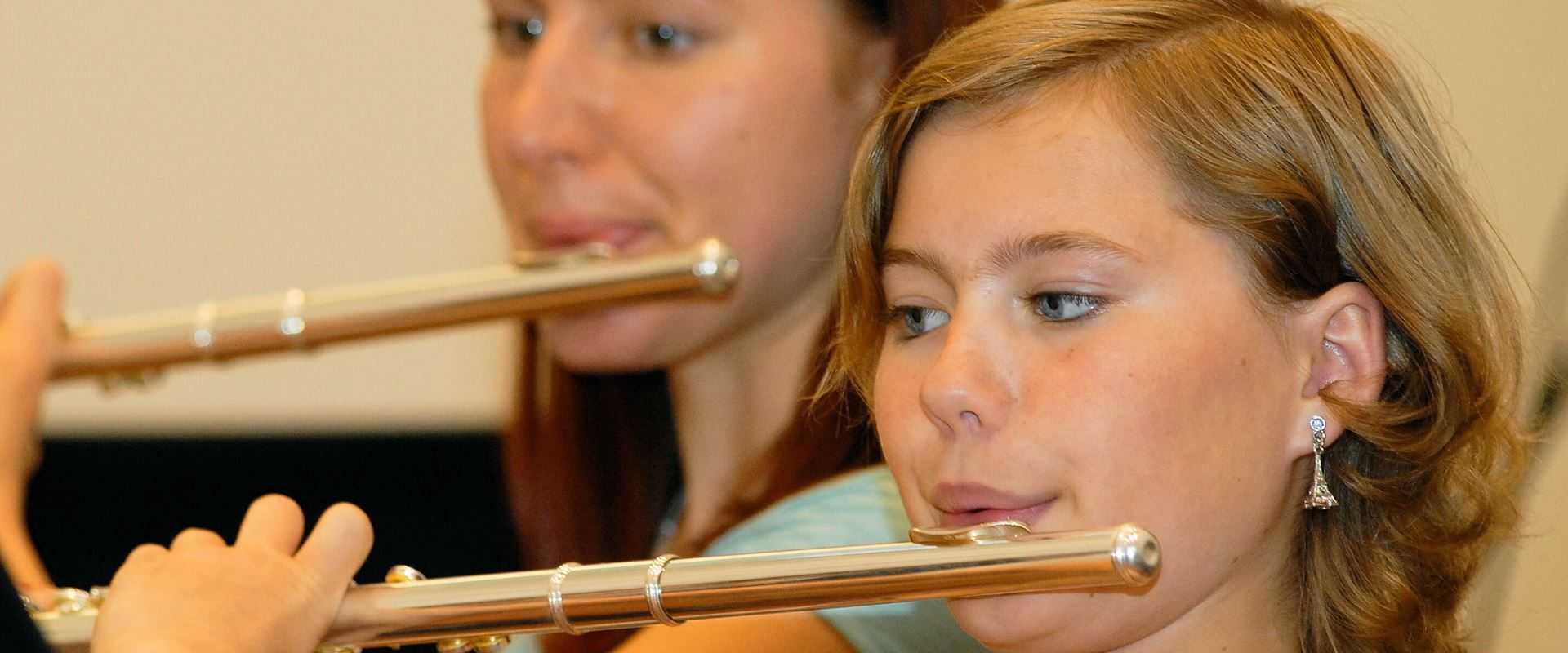 Querflötenunterricht in der Musikschule Bertheau & Morgenstern