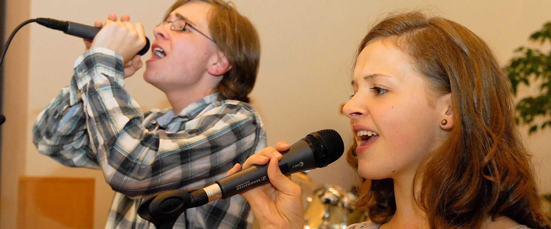 Gesangsunterricht in der Musikschule Bertheau & Morgenstern