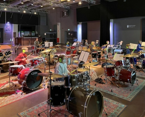 Drum Session am 18.09.2021 im Lindenpark in Potsdam